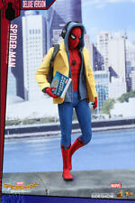 """Spider-Man Homecoming Deluxe 1/6 Marvel MMS426 12"""" Figur Hot Toys"""