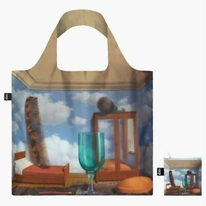 Personal Values Modern Art Tote by Rene Magritte LOQI Shopping Travel Gift Bag
