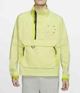 Nike Men's Sportswear Tech Pack Woven Jacket CK0710-367 Limelight Black Volt