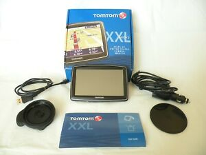 Barely Used! TomTom XXL 540 TM GPS W/ Traffic Portable Bundle