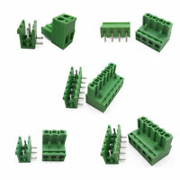 1x Green PCB Terminal Block Ramps Connector 5.08mm Plug-in Screw 2 3 4 5 6 PIN
