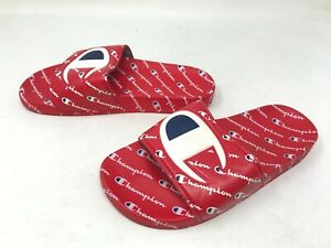 Boys Champion (CM100082Y) IPO Repeat Red Slides (426o)