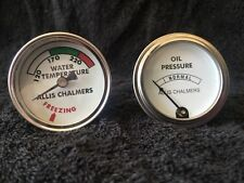 ALLIS CHALMERS Water Temp and Oil Pressure gauges, guages