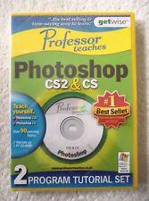 30038 - Professor Teaches Photoshop CS2 / CS [NEW & SEALED] - PC (2006) Wind