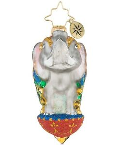 Christopher Radko Ornamental Mammoth Little Gem Ornament