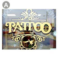 Tattoo Studio Window Stickers Wall Decal Vinyl Art Advertising Retail Shop