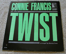 Connie Francis 1962 MGM Mono LP Do The Twist