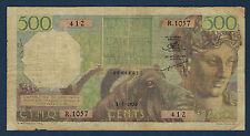ALGERIE - 500 FRANCS Pick n° 106 du 1-6-1956 en TB  R.1057  412