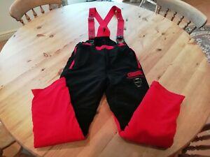 Oregon Supercomfort SL Chainsaw Trousers   20m/SEC Class 1   Size M Waist 32-34