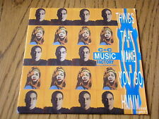 """C+C MUSIC FACTORY - THINGS THAT MAKE YOU GO Hmmm      7"""" VINYL PS"""