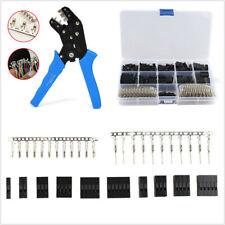 610*2.54mm Car SUV Male Female Crimp Connectors Kit+Terminal Crimping Plier Tool