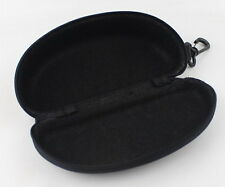 10pc Black Large Zipper Box Bag Reading Glasses Sunglasses Hard Case Travel Pack