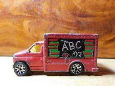 Car~Matchbox Ford Box Truck Red 1:64 Scale