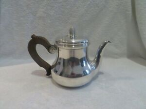20th c french sterling silver tea pot pine cone Tetard Frères