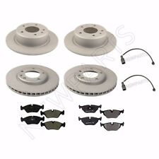 BMW E30 M3 1988-1991 Front and Rear Disc Brake Rotors & Pads With Sensors KIT