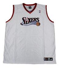 Camisa Swingman con Bordado Espeso Camiseta c/ómoda de poli/éster de Secado r/ápido QAZX Camiseta de Baloncesto Retro para Hombre # 3 Iverson Sixers S-XXL