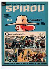 ▬► Spirou Hebdo n°1366 du 18 Juin 1964 Complet AVEC mini-récit Très bon état