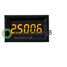 Red Blue Yellow 5 Digit LED DC 0-4.3000-33.000V Digital Voltage Panel Voltmeter