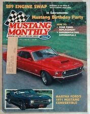 MUSTANG MONTHLY 1984 AUG - MACH 2, 100212, GT500KR