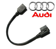 AMI MMI Music Interface to USB Adapter Cable for Audi A4 A5 A6 A8 Q5 Q7 Q8 A4L