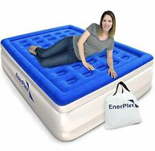 Never-Leak Queen Air Mattress with Built in Pump Raised, Airbed , Blow Up Bed