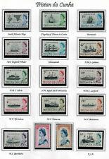 Tristan da Cunha 1965 Ships Mint Never Hinged MNH
