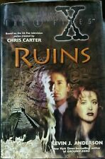 The X-Files: Iv: Ruins by Kevin J Anderson Science Fiction & Fantasy Hardback
