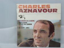 Charles Aznavour – Les Enfants De La Guerre                 Barclay – 71.075 M