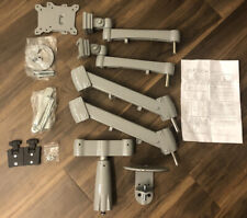 UPLIFT DESK 2 Monitor Arms (Range Dual Model) Gray (MON021-GRY) Pre-Owned