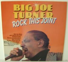 "Big Joe Turner Rock This Joint LP 12""Vinyl Import Cleo Records CL0019983 Holland"