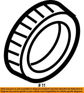 Dodge CHRYSLER OEM 03-09 Ram 3500 Brake-Rear-Inner Bearing 5086774AA