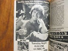 1980 TV Guide(MAC  DAVIS/FRANKLIN COVER/JUDITH  LIGHT/MARILYN MONROE/ROXIE ROKER