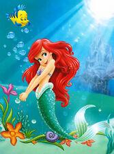 Disney Little Mermaid Ariel Plush Throw Blanket Twin Size 60x80