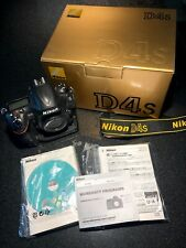 Nikon D D4S 16.2MP Digital SLR Camera - Black (Body Only) Excellent condition