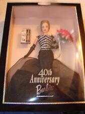 MATTEL BARBIE DOLL   40th ANNIVERSARY BARBIE COLLECTOR EDITION 1999 NEW IN BOX