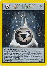 Metal Energy Holo 1st Edition Pokemon Card Neo Genesis 19/111