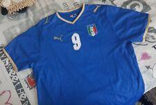 CALCIO EURO 2008 ITALIA Official PUMA Luca Toni 9 jersey maglia shirt soccer XL