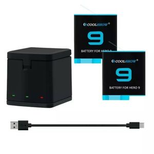 For GoPro Hero 9 battery charger