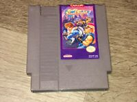 Mighty Final Fight Nintendo Nes Cleaned & Tested Authentic