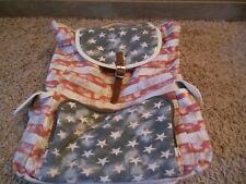 """American Flag Backpack Mossimo Patriotic USA """"NICE"""""""