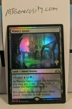 2x Watery Grave FOIL PROMO + FOIL Guilds of Ravnica - Magic: The Gathering MTG