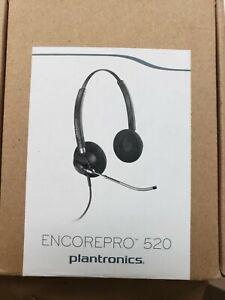 Plantronics EncorePro HW520 Black Headband Headset