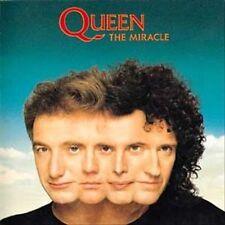 Queen - The Miracle - 1989 CD Album + 3 Bonus Tracks - USA CDP 7 92357-2