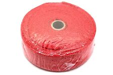 "FIBRE GLASS HEAT WRAP PROTECTION TAPE, 2"" WIDTH, 1.5MM LENGTH 10M  500 DEG - RED"