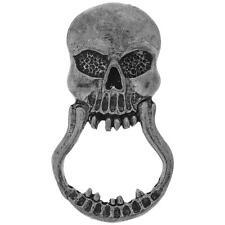 Biker Chopper Skull Totenkopf Schädel Pin Halter Anstecker Brillenhalter NEU