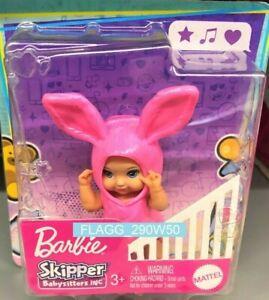 Barbie Skipper BABYSITTERS INC Costume Babies BUNNY RABBIT Read Inside! 2021