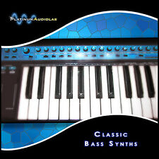 Beefy Synth Bass Analog Sample Sound Library LOGIC EXS24 HALION KONTAKT REASON