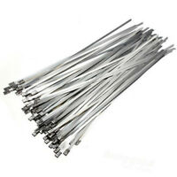 8 inch Stainless Steel Cable Ties 100 PC