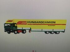 raba 2-AXE tracteur avec Planenauflieger #neu dans neuf dans sa boîte # KIBRI 14699 Piste h0