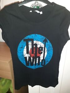 The Who Tshirt Size 8